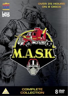 Mask: Complete Collection (UK IMPORT) DVD NEW