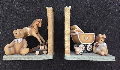 Mamas and Papas Once Upon a Time Bookends Nursery Teddy Rocking Horse Doll Pram