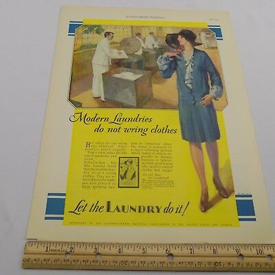 VTG 1929 Ladies' Home Journal Advertisement Maxwell House Coffee Laundry