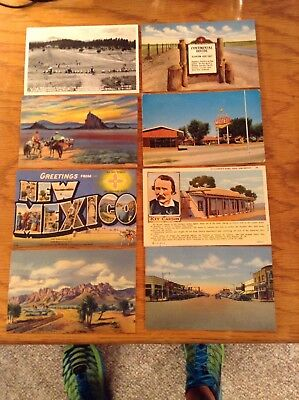 13 - New Mexico Post Cards 1950's