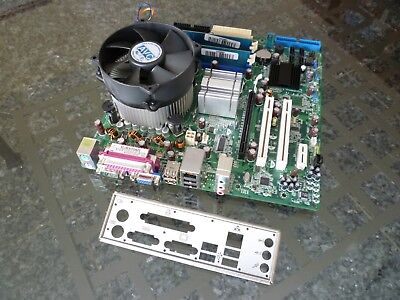 Bundle Pegatron-ASUS IP4BL-ME Board Sockel 775 + CPU Intel Dual E2220 + RAM 2GB