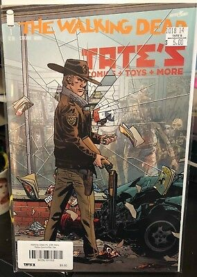 THE WALKING DEAD #1 - 15th Anniversary Tate's Comics Exclusive Variant - IMAGE