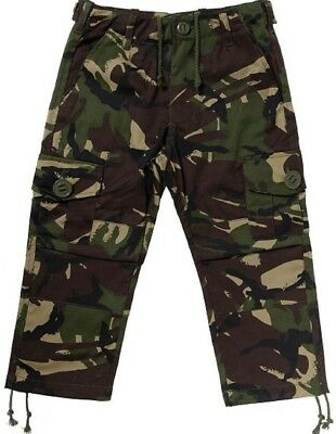 KAS Kids Army Camouflage Multi Pocket Combat Childrens Military Trousers