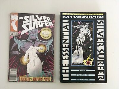 Silver Surfer, Vol 3, No. 50, June 1991, 50th Anniversary Spectacular Foil Cover