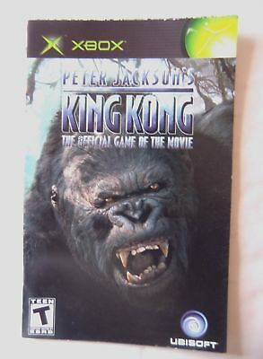 55788 Instruction Booklet - Peter Jackson's King Kong - Microsoft Xbox (200