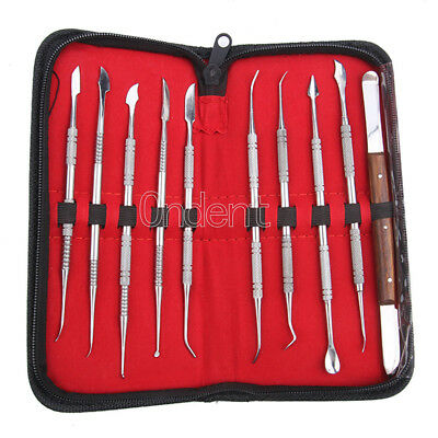 Wax Carving Tools Set Surgical Dentist Sculpture Knife Tool Dental Equipment