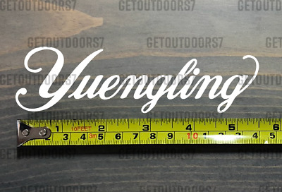 """YUENGLING BREWERY Sticker Decal 5.5"""" White Die Cut Craft Beer Brewing XO"""
