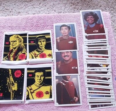 1982 Star Trek  The Wrath of Khan complete set 1-30 and all 4 wrapper variations