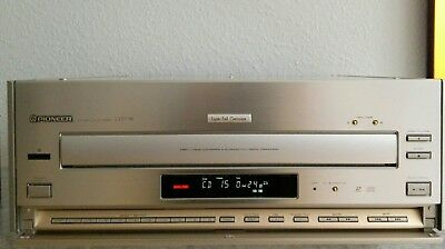 "Pioneer CLD 98 HIGH END "" NTSC "" Laserdisc Player / CD LD CDV Player ""Rarität"""