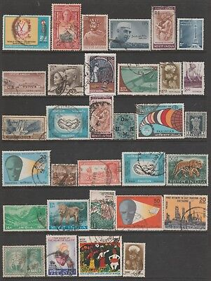 INDIA COLLECTION All Periods on Old Book Pages,As Per Scan FINE USED #