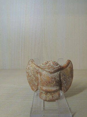Ancient Carved Stone Idol statuette,Monster.Alien,The God Bird
