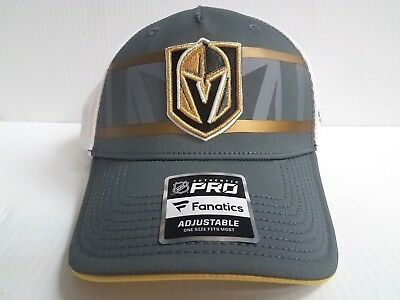 ade4cd58322 Vegas Golden Knights Cap 2018 Authentic Pro Second Season Adjustable Mesh  Hat