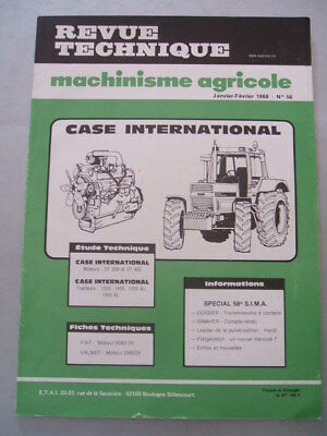 REVUE TECHNIQUE TRACTEUR CASE INTERNATIONAL IH 1255 1455 + version XL