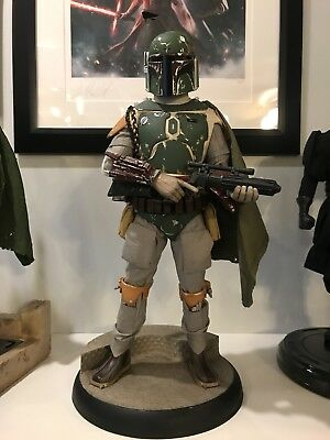 Sideshow Collectibles: Boba Fett Star Wars, 1:4 Scale, Premium Format