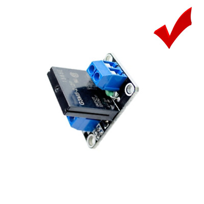 Single 1 Channel 5v OMRON SSR Solid State Relay Module 240V 2A For Arduino +Fuse