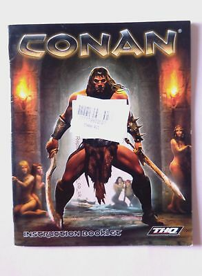 47836 Instruction Booklet - Conan - Sony Playstation 3 (2007) BLES 00076