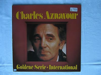 CHARLES AZNAVOUR Goldene Serie International Vinyl LP Barclay 34 7435