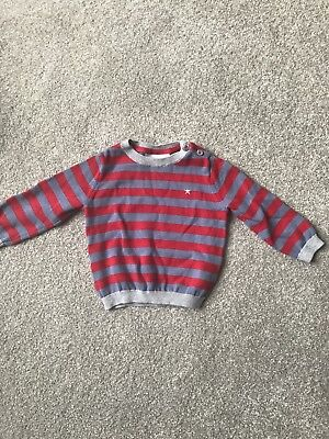 White Company baby boy Jumper 3-6 Mths New/Never worn