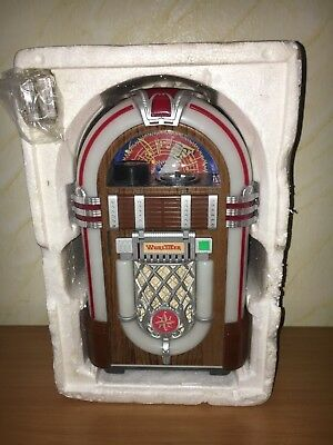 WURLITZER MINI CASSETTE TAPE juke box 1015 MADE IN JAPAN RARE WITH MANUALS WOW