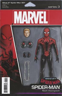 WHAT IF? SPIDER-MAN 1 Christopher Action Figure Variant (Marvel Comics, 2018)