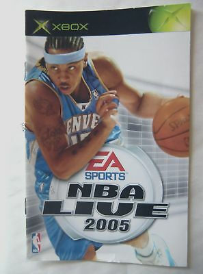 55138 Instruction Booklet - NBA Live 2005 - Microsoft Xbox (2004)