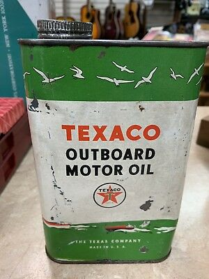 Texaco Outboard Motor Oil 1Qt. Can