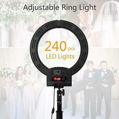 RL-560D Camera Photo Studio Phone Video 36W 240pcs LED Dimmable Ring Light 5500K