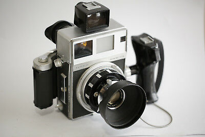 Mamiya Super 23 Press lens 100mm 3.5 and 65mm 6.3, viewfinder and others