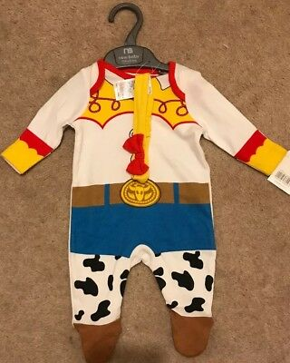 Disney Toy Story Jessie Outfit Mothercare New... New Baby