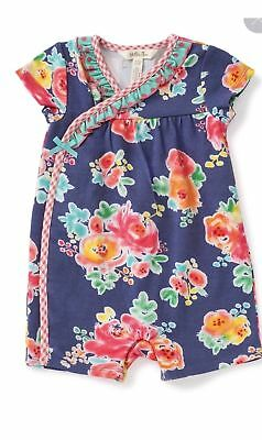 NWT Girls Matilda Jane CAMP MJC Going Places Romper Size 3 6 Months