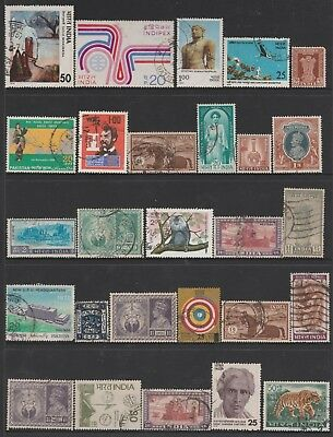 INDIA COLLECTION All Periods, As Per Scan FINE USED #