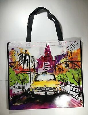 REUSABLE SHOPPING TRAVEL TOTE BAG FLMNG ECO FRIENDLY TJMAXX NEW