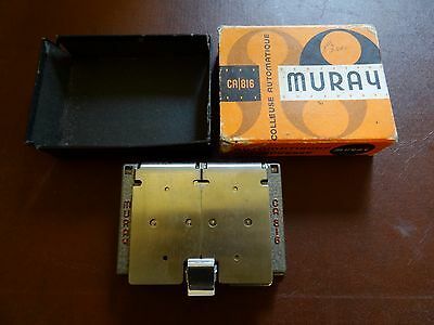Vintage Muray CA 816 automatic film reel splicer, boxed 1950's Klebepresse