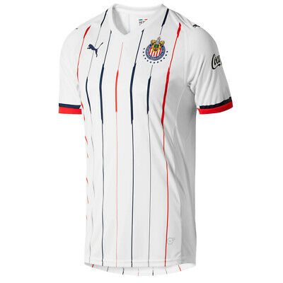 81760d96d0444 PUMA MEN'S CHIVAS 18/19 Away Jersey White 703882 01