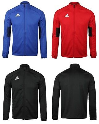 Adidas Youth Condivo 18 Training Blue Red Black Kid Soccer Jackets Shirts ED5914