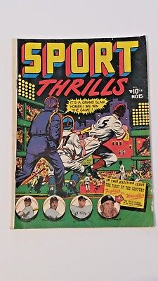 Sport Thrills #15 in Good Condition. Star comics 1951