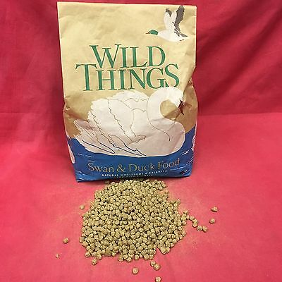 FLOATING Duck Swan Geese Pellets Premium Wheat Food 100g BETTER THAN BREAD!!