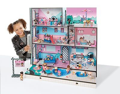 LOL Surprise Doll House For Little Girls With 85 Multicolor Dollhouses New