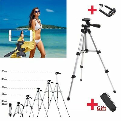 Universal Tripod Stand Mount for Projector Camera Laptop Phone Adjustable+Holder