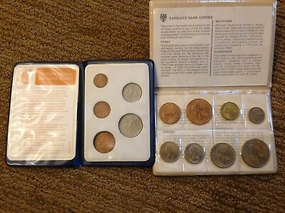 Two Sets of Modern British Coins - total of 13 coins.