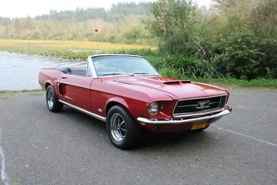 1967 Ford Mustang  1967 Ford Mustang Convertible GT 350 Spec. 1 Owner Red/Black, Superb