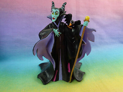 Disney Sleeping Beauty Villain Maleficent w/ Diablo PVC Figure or Cake Topper