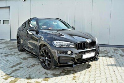 Cup Spoilerlippe v.1 BMW X6 F16 M Paket Carbon Look