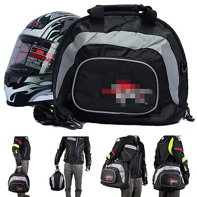Motorcycle Large Helmet Bag Motorbike Scooter Helmet Pack Carry Bag Shoulder Bag