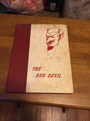 1967 Tallapoosa Ga Haralson County High School Yearbook The Red Devil
