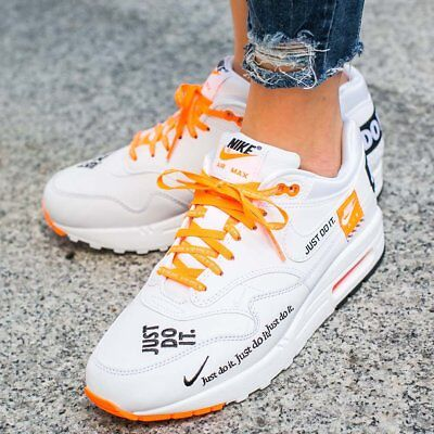 nike air max just do it blanche