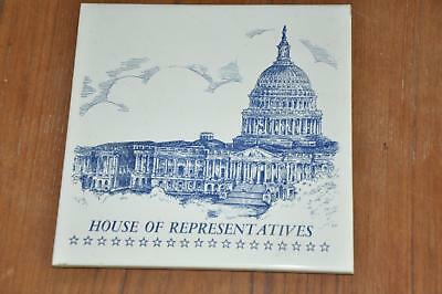 House of Representatives Tile Wall Hanging Trivet