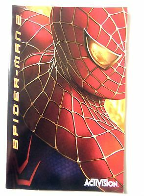 58024 Instruction Booklet - Spider-man 2 - Sony Playstation 2 (2004) SLES 52493