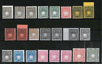 BRITISH EAST AFRICA 1890-1895 Mint LH Lot on Card Unchecked High CV!