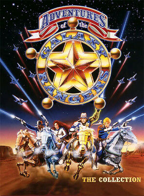 The Adventures Of The Galaxy Rangers (1986) Complete Tv Series